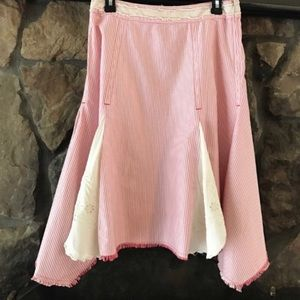 ❣️FREE PEOPLE❣️CANDY ASYMMETRICAL STRIPER SKIRT❣️